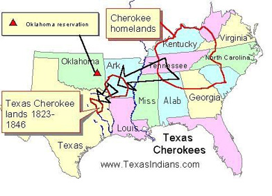the livelihood of native americans and the cherokee tribes migration to oklahoma Cherokee nation (oklahoma social studies standards, osde) tribe: cherokee  sent all the eastern native american tribes to live there some tribes willingly agreed to this plan other tribes didn't want to go, and the american army forced them the cherokee tribe was one of the largest eastern tribes, and they didn't want to leave their.